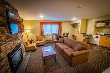 Fireplace Kootenay Hotel