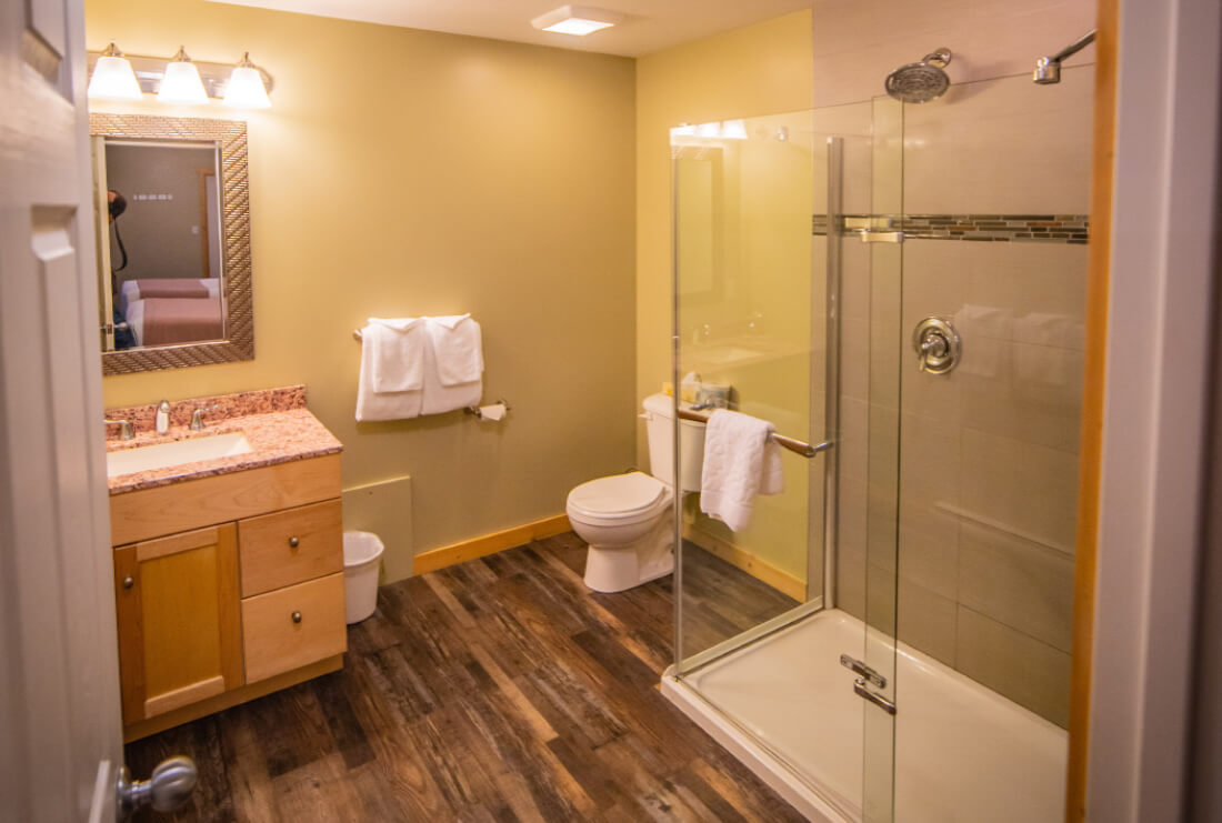 Fireplace Suite Bathroom