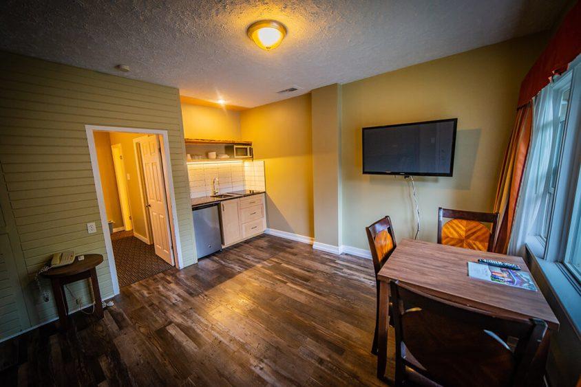 Kitchen Hotel Room